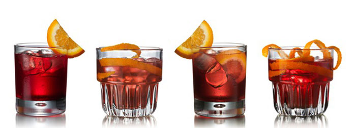 Negroni variations