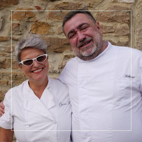 Chefs Pippo & Guia