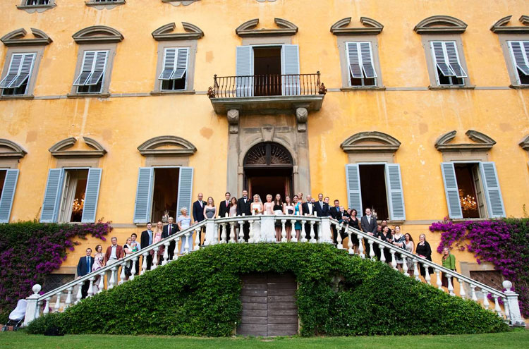 Weddings at Villa Lungomonte, Pisa