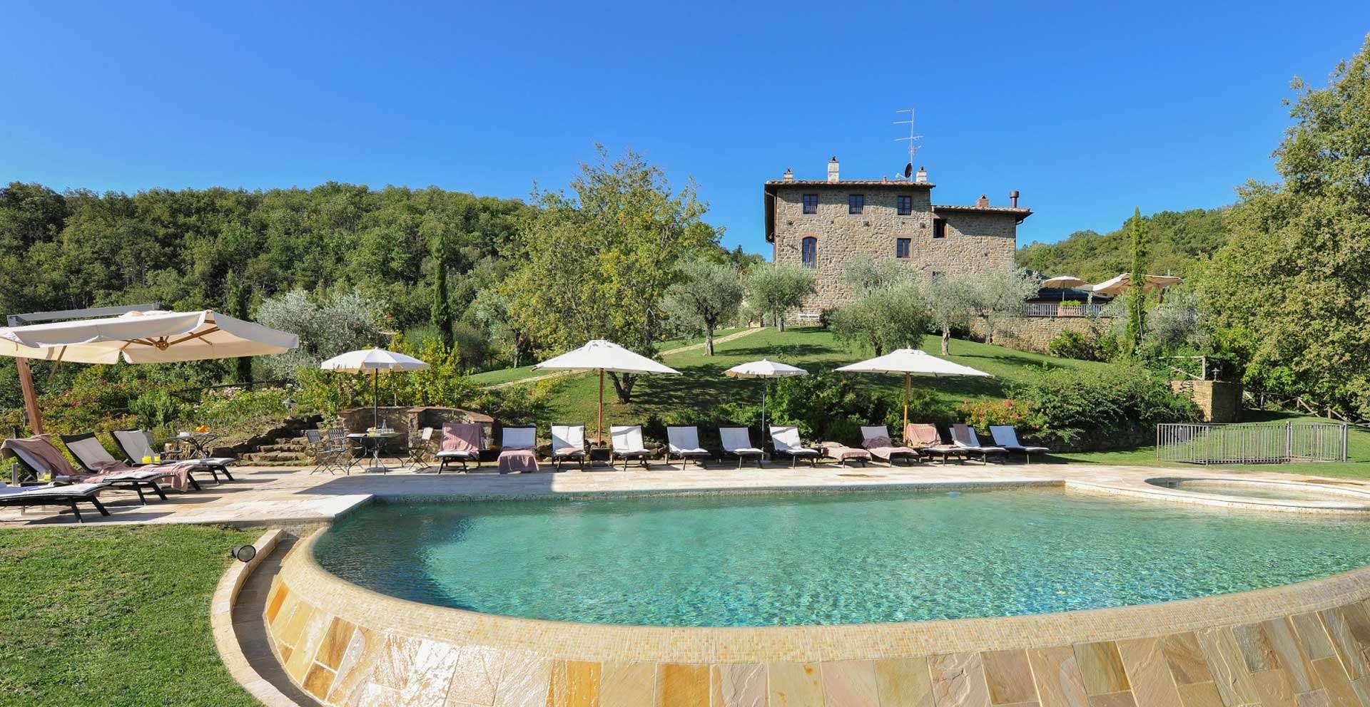 I Corbezzoli, villa in Chianti