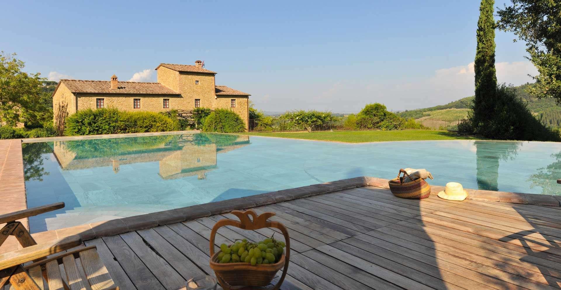 Podere Celli, tuscan villa, private swimming pool